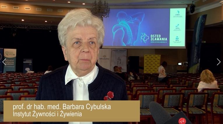 prof. dr hab. n. med. Barbara Cybulska
