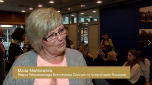 Maria Mańkowska, Prezes Włocławskiego Towarzystwa Chorych na Stwardnienie Rozsiane