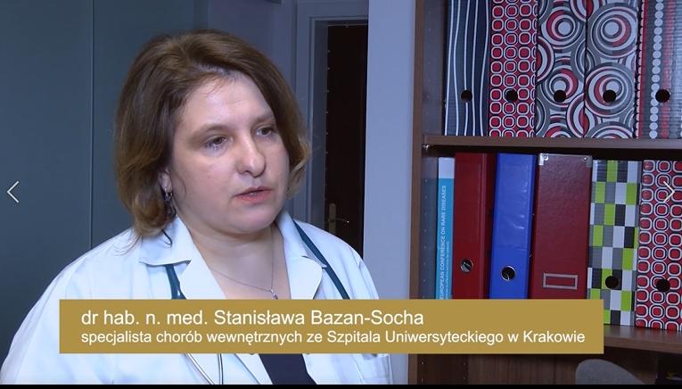 dr hab. n. med. Stanisława Bazan-Socha