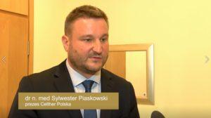 dr n. med Sylwester Piaskowski Prezes Celther Polska