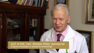 prof. dr hab. med. Wiesław Wiktor Jędrzejczak