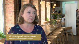 dr Katarzyna Lewandowska, Klinika Chorób Płuc Instytutu Gruźlicy i Chorób Płuc w Warszawie