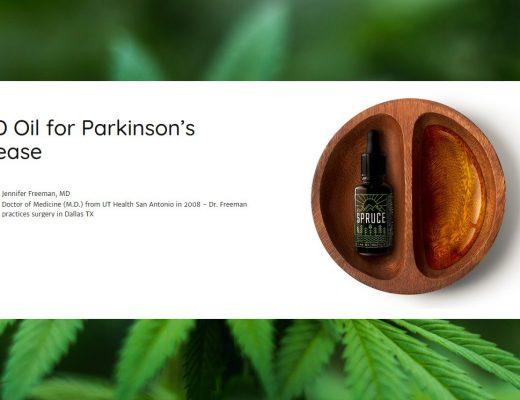 Dlaczego olej CBD ma tak dobroczynny wpływ w chorobie Parkinsona?