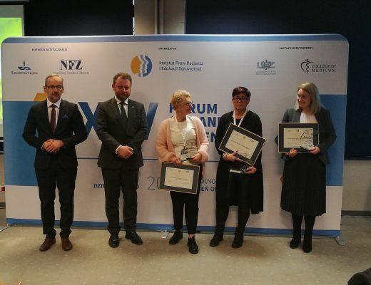 """Fundacja STOMAlife wyróżniona nagrodą """"Dla Zdrowia i Pacjenta"""""""